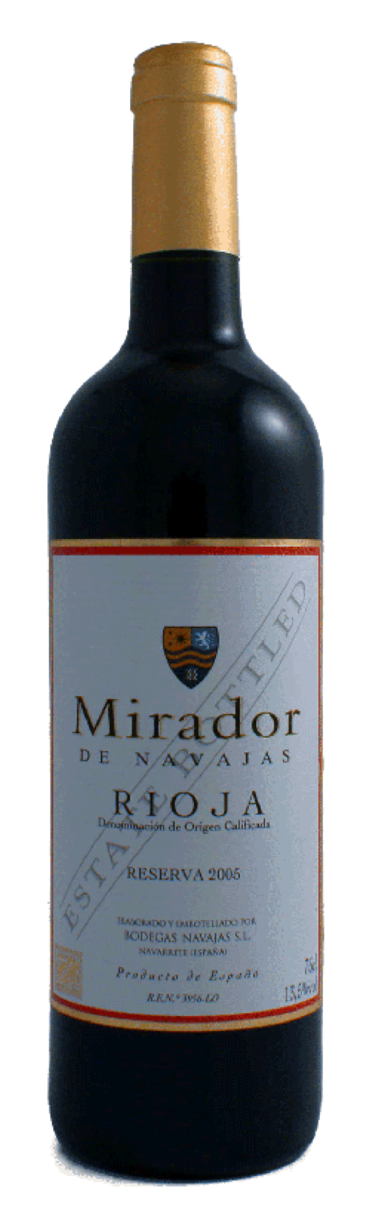 Mirador de Navajas, Rioja Reserva DO, 2011