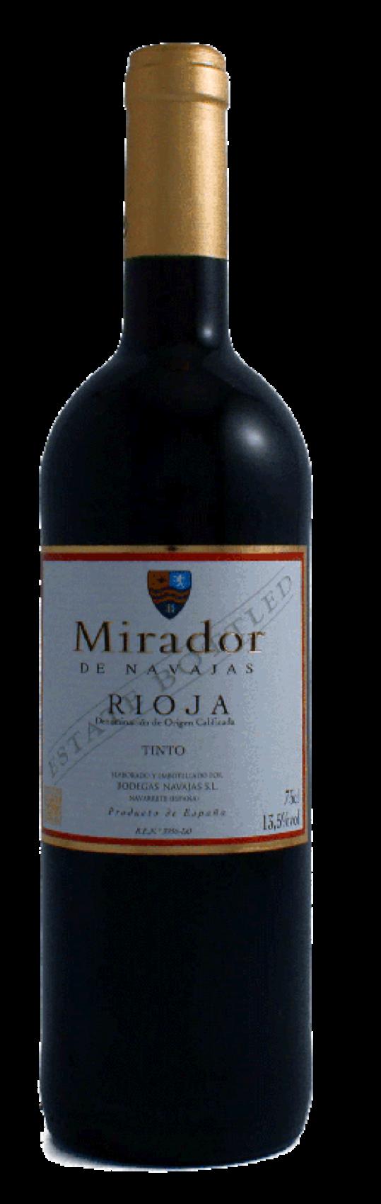 Mirador de Navajas, Rioja Tinto DO, 2018