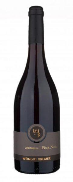 Bremer, Apotheker Pinot Noir QbA trocken, Zellertal, Pfalz, 2016