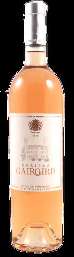 Château Gairoird Rosé, Côtes de Provence, Bio, 2019