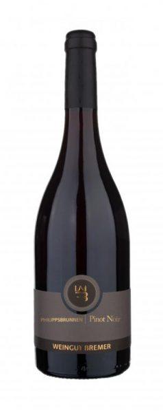 Bremer, Philippsbrunnen Pinot Noir QbA trocken, Zellertal, Pfalz, 2016