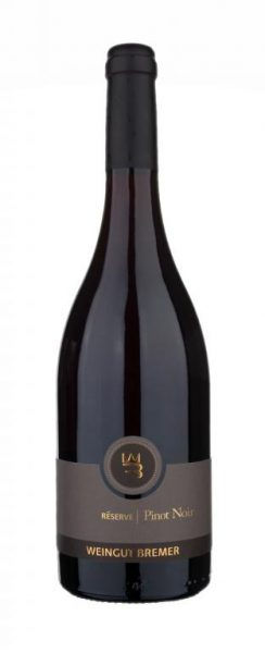 Bremer, Pinot Noir Réserve QbA trocken, Zellertal, Pfalz, 2016