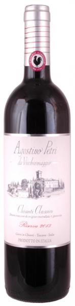 Agostino Petri da Vicchiomaggio, Chianti Classico Riserva DOCG, 2015