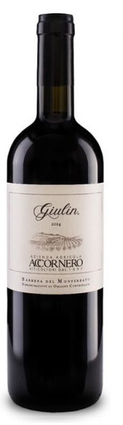 Barbera del Monferrato Giulin DOC, Accornero, 2016