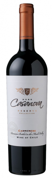 Hugo Casanova, Carménère Reserve Collection, Curicó Valley, Chile, 2017