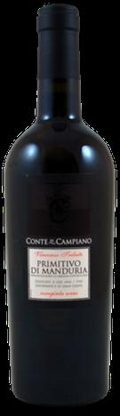 Conte di Campiano, Primitivo di Manduria DOC, 2018