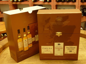 Die Single-Malt-Whisky Geschenkebox