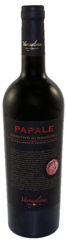 Papale, Primitivo di Manduria, DOP, Varvaglione 1921, 2017