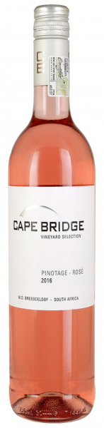 Cape Bridge, Pinotage Rosé, Breede River Valley, 2020