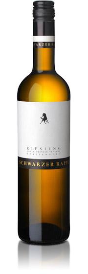 Schwarzer Rappe, Riesling QbA trocken, Felsengartenkellerei Besigheim, 2019