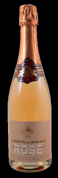 Chapin & Landais, Crémant de Loire Rosé, Brut