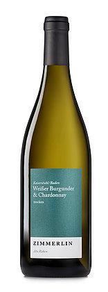 """Weißer Burgunder & Chardonnay, Zimmerlin """"Alte Reben"""", trocken, Kaiserstuhl, 2020"""
